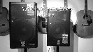 Best Frfr Cabinet For Kemper by Yamaha Dxr12 Vs Dxr10 Audio Comparison Youtube