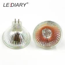 lediary 10pcs dimmable mr16 jcdr gu5 3 halogen spot light 12v 220v