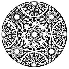 Mandala Coloring Pages Pdf Print