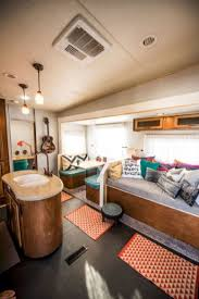 Best Travel Trailer Organization Rv Storage Hacks Remodel Ideas 46