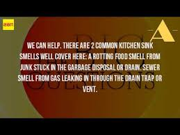 My Bathroom Drain Smells Like Sewer by Why Does The Kitchen Sink Drain Smell Youtube