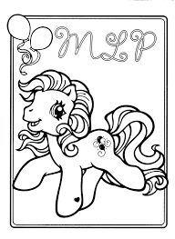 My Little Pony Baby Pinkie Pie Coloring Pages Book Page Full Size