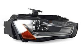 headlight assembly oe bi xenon right b8 5 audi a4 s4