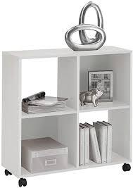 scouts möbel fd regal mit rollen standregal pan in weiß in 72x78x33 cm arbeitszimmer büro wohnzimmerschrank wohnzimmer flur diele