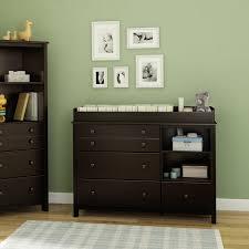 Graco Espresso Dresser 5 Drawer by Badger Basket Sleigh Changing Table With Hamper U0026 Drawers Hayneedle