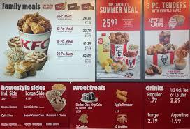 KFC Menu Menu for KFC West Seattle Seattle Urbanspoon Zomato