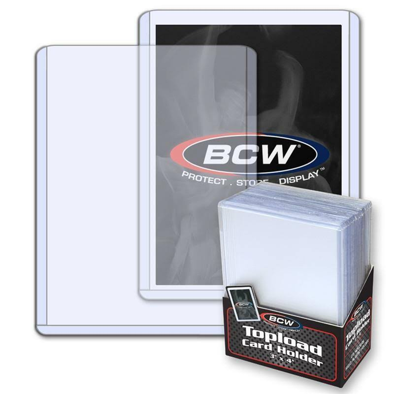 BCW Topload Card Holder - 3x4''