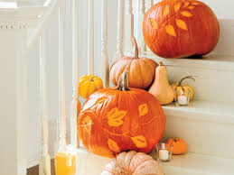 Ways To Make A Pumpkin Last Longer by How To Etch A Pumpkin Southern Living