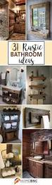 Half Bathroom Decorating Ideas by 25 Best Rustic Bathroom Decor Ideas On Pinterest Half Bathroom