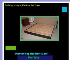 build a platform bed base 215414 woodworking plans and projects