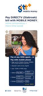 MMG Stabroek Directv payment flyer 001