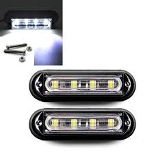 2x 4 LED Light Bar Strobe Emergency Hazard Flash Light Truck ... 2x Whiteamber 6led 16 Flashing Car Truck Warning Hazard Hqrp 32led Traffic Advisor Emergency Flash Strobe Vehicle Light W Builtin Controller 4 Watt Surface 2016 Ford F150 Adds Led Lights For Fleet Vehicles Led Design Best Blue Strobe Lights For Grill V12 130 Tuning Mod Euro Simulator Trucklite 92846 Black Flange Mount Bulb Replaceable White 130x Ets 2 Mods Truck Simulator Factoryinstalled Will Be Available On Gmcsierra2500hdwhenionledstrobelights Boomer Nashua Plow Ebay