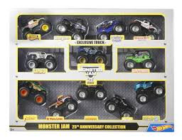 Hot Wheels Monster Jam 25th Anniversary Collection Set - Toys