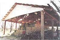 How To Build Pole Barn Construction by How To Build An Inexpensive Pole Barn Diy Mother Earth News