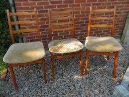 3 original stühle esszimmer küche 60 70er jahre vintage