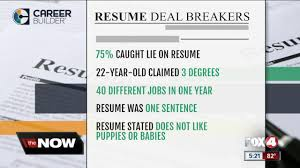 Resume Warnings! Things NOT To Do When Sending Your Resume - YouTube How To Lie On Your Resume Things Include A Fresh Lying On Rumes Do You Uncover When A Candidate Is Doing It What Not In 15 Remove Right Away When Lie The Resume And Still Get Job Is Creative Design Ruing Job Search Interview Tips Makes Seekers Their Rumes The Survey Results Are In Topresume Inspirational Atclgrain Dont 10 Reasons Why Can Kill It Good Idea Alice Berg Medium