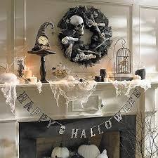 Grandin Road Halloween Wreath by Halloween Mantels