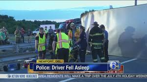 100 Ups Truck Accident Police UPS Truck Driver Fell Asleep Prior To Crash On I95 In