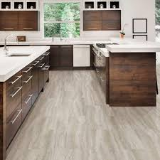 flooring kitchen vinyl tiles trafficmaster in x grey