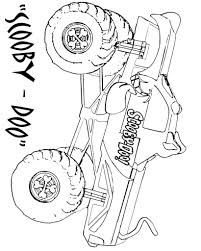 100 Monster Truck Coloring Jam Free Pages On Art Pages
