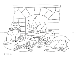 Winter Coloring Sheets For Preschoolers Page Printable Pages