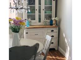 Shabby Chic Dining Room Hutch by Dining Room Hutch Ideas Shabby Style Dining Room Dining Room
