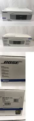 compact and shelf stereos bose wave music radio system under