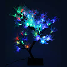 Mini Led Fiber Optic Christmas Tree by Online Get Cheap Fiber Optic Table Decorations Aliexpress Com