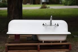 kitchen amazing vintage kitchen sink with drainboard bar sink