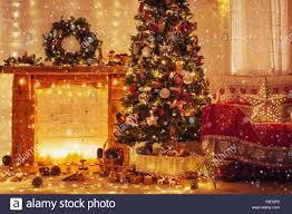 weihnachten wohnzimmer eingerichtete holz kaminsims