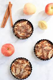 Gluten Free And Vegan Apple Tarts With An Almond Meal Crust This Recipe Is