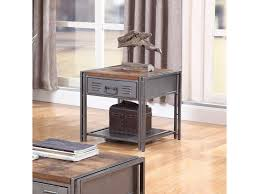 Coaster Costello Industrial End Table Value City Furniture