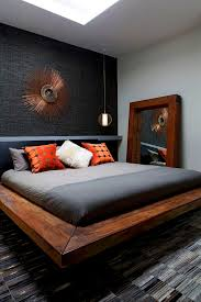 bedroom lovely bachelor pad bedroom with grey color design and