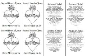 Four Different Immaculate Heart Of Mary Coloring Pages And Info On The Seven Sorrows