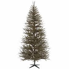 Shop Vickerman 8 Ft Unlit Vienna Twig Slim Artificial Christmas Tree