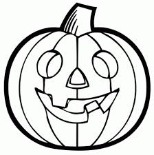 Halloween Pumpkin Clipart Black And White 3