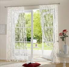 gardinen vorhänge im landhaus stil fürs esszimmer günstig