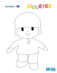 Dibujos Para Colorear Pocoyo Eshellokidscom