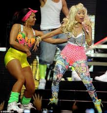 That Outfit Is Just Pants Nicki Minaj Takes To The Stage In A Humongous Pair Of Pink Knickers Outfits For Parties80s