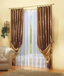 dekogarnitur seitenschals gardine vorhang höhe 145cm breite