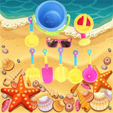 Seaside Clipart Building Sandcastle 2