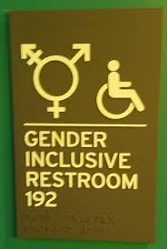 Gender Inclusive Bathroom Sign by Vital Signs Pittsburgh