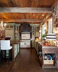 Rustic White Country Kitchen Design Antique And Vintage