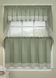 Kitchen Curtain Ideas For Bay Window by Simple Kitchen Curtain Designs Interior Design