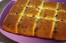 recette dessert avec yaourt gâteau au yaourt au sucre de canne pépites de chocolat les