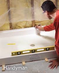 how to fit a shower tray shower base trays and 1920s bathroom