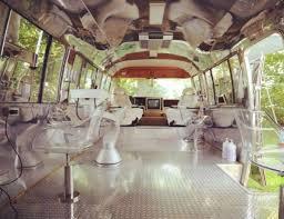 A Luxury Hair Salon Inside Restored Airstream Trailer