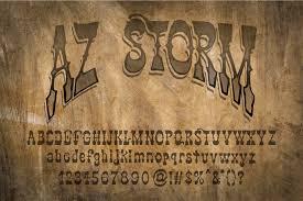 AZ Storm Opentype Font