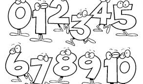 Medium Size Of Coloring Page1 10 Pages Easy Number For Kids Page 1