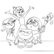 Inside Out All Characters